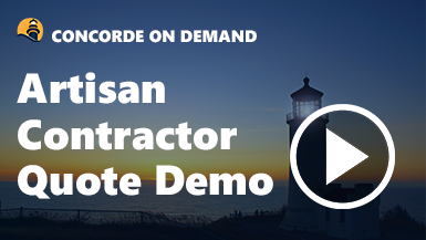 Artisan Contractors Quote Demo