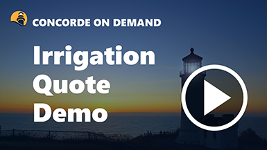 Irrigation Program Quote Demo
