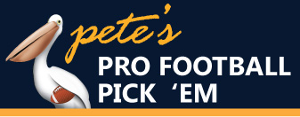 Pete's Pro Football Pick 'Em